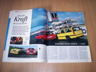 MOT 03/1995 Volvo 850 T 5R Kombi mit 240PS besser als M