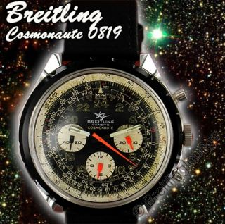 BREITLING Uhr   Navitimer Cosmonaute 0819   aus 1968