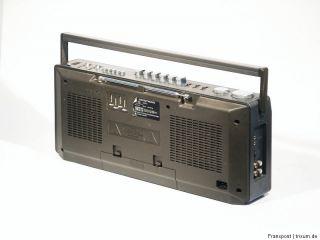 GRUNDIG RR455 STEREO RADIORECORDER GHETTOBLASTER BOOMBOX RADIO