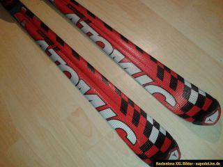 Atomic GS 1121 beta Race Carving Ski 181 cm mit Bindung rot schwarz