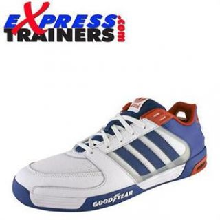 Adidas Originals Mens Goodyear Race RL Leather Trainers