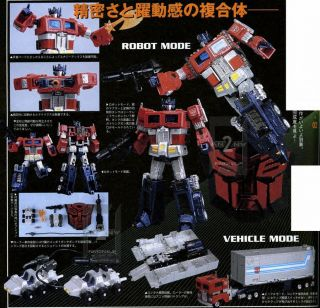 TRANSFORMERS OPTIMUS PRIME HYBRID STYLE THS 02 CONVOY