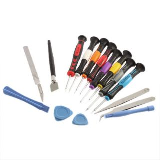 16 In 1 Repair Opening Tool Kit Pentalobe Torx Screwdrivers PC Cell