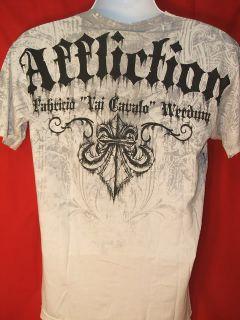 Fabricio Werdum Affliction Premium T shirt NEW