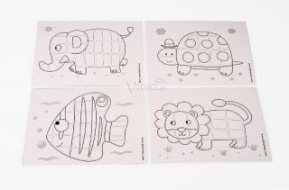 Playmais Vorlagen zum Bekleben mit Spielmais, SET CARDS SCHULE, versch