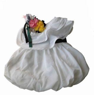 Kinder Blumenmädchen Hochzeit Sommer Kleid Festkleid für Mädchen 4