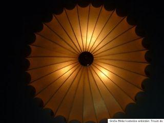 Riesige UFO Cocoon Lampe Deckenlampe Castiglioni oder George Nelson