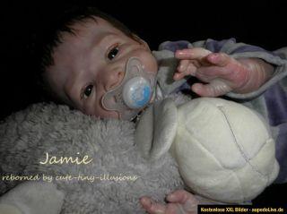 Reborn Reallife Baby Doll Jamie by Olga Auer