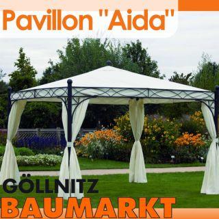 Pavillon Aida 350x350cm Pavillion Gartenpavillon UV50