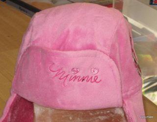 Kinder Wintermütze Babymütze Mütze Minnie Mouse Disney Gr. 48 oder