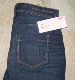 NEU MAC Jeans Lieblings Skinny Stretch Gr. 40 L 30 darkdenim D888