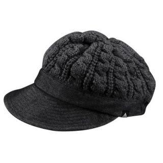 VAUDE Womens Yale Hat Strickmütze mit Schirm Mütze schwarz oder