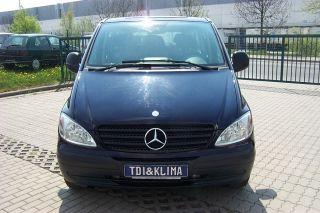 Mercedes Benz Viano/Vito 111CDI Extralang 9 Sitze mit Klima/6 Gang/122