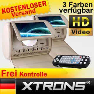 HD903 2 x 9 Kopfstütze Auto DVD Player car Headrest LCD Monitor NUR