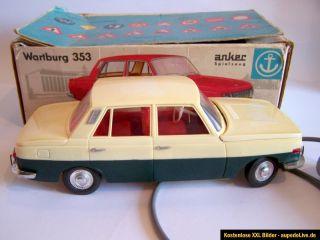 206) Warburg 353 NVA Zivilfahrzeug Anker Fernlenkauo Presu mi OVP