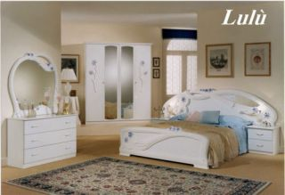 ... Klassisches Komplett Schlafzimmer Möbel Italien Weiss Hochglanz ...