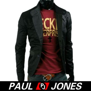 Men Slim Fit stylish Coats Jacket Casual Fashion Short Trench Wild