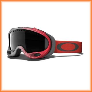 Oakley A Frame 57 909 Half Tone Red Skibrille (dark grey) 2013