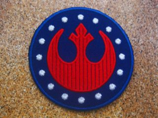 STAR WARS Rebel Alliance Red Squadron Patch Aufnaeher Aufbuegler 7 5x7