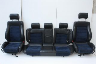 Audi 100/S4/A6/S6 C4 Avant Innenausstattung Leder schwarz/Alcantara
