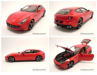 Ferrari FF 2011 rot, Modellauto 118 / Mattel   Hot Wheels