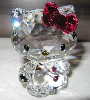 Swarovski 1096877 Hello Kitty Pink Bow Neu & OVP