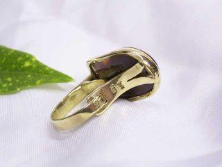 FEUER OPAL RING 750 GOLD ANFERTIGUNG/UNIKAT SIGNIERT