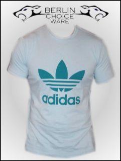 Adidas T Shirt Adi Trefoil Tee Cleargrey Gr. XS   2XL