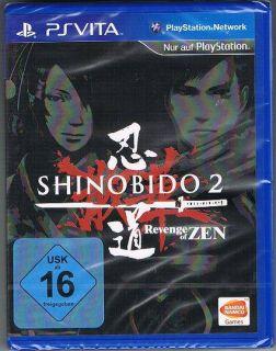 Sony PlayStation Vita Spiel Shinobido 2 Revenge of Zen Action NEU