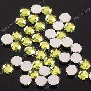 3mm 1000x Nail Nagel Art Design Strass Glitter Steine Sticker Perle