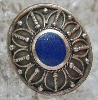 Lapis Ring Lapislazuli Ring 925 Silber Ring Antik Ring Lapisschmuck
