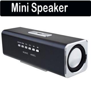 mini Music Angel USB Micro TF/SD Card Reader FM Radio Speaker