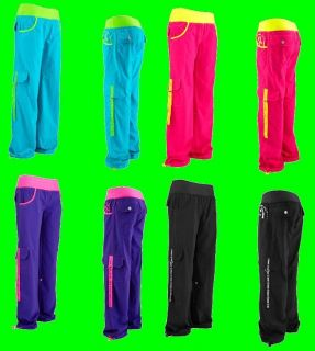 Zumba Electro Cargo Pants  NWT Choose from 4 hot colors Ships fast