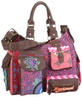 New 2012 Desigual Lon Peo Box Taschen 18X5128 Damen Red Bag Tasche