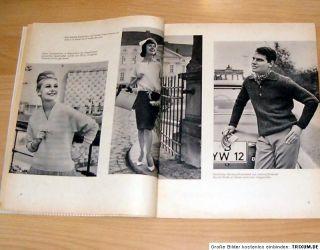 Knittax Magazin Nr. 9 September 1960 Warme Unterwäsche