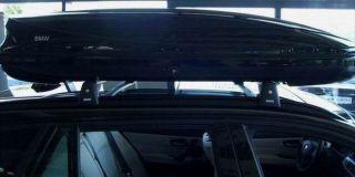BMW Dachbox 320 Lier schwarz neues Design // Neu