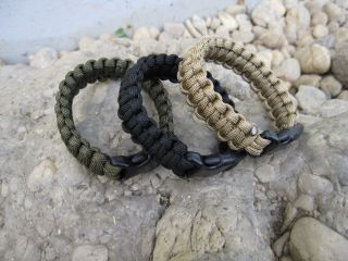 Para Armband 22mm Fallschirmleine Survival Armband Paratrooper US Army