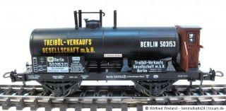 Trix 21213 Güterzug mit Dampflok T 13 der K.P.E.V., OVP, TOP Zustand