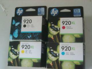 HP 920/920XL 4 Patronen OfficeJet 6000 6500 7000 7500 Original Neu