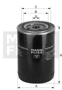 MANN Ölfilter W 930 f Case IH C Serie C55, C64, C70