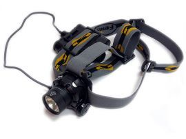Fenix HP11   Hochleistungs LED Stirnlampe / Kopflampe schwarz inkl
