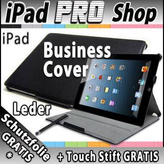 iPad 2 Smart Leder Cover Case Schutz Hülle Etui Tasche Cover Business