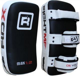 RDX Thai Kick Boxing Strike Curve Pads Arm Punch MMA GI