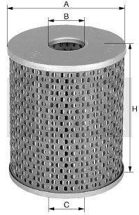 MANN Oelfilter Oel Filter Filtereinsatz H 928/1