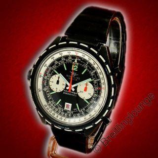BREITLING Uhr Navitimer Black Steel Chrono Matic 1806