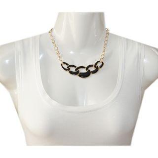 Neu Statement Kette Edle Halskette Blogger Necklace Choker Collier