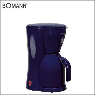 BOMANN KA 154 CB blau 1000 W Thermo Kaffeemaschine Kaffeeautomat NEU