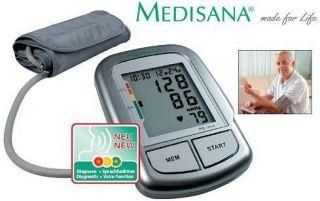 Medisana Blutdruckmessgeraet Oberarm Gratis dazu Handgelenk