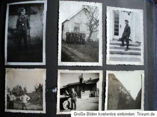 ALTES FOTOALBUM,2WK,WWII,WW2,KONVOLUT 50 FOTOS,SOLDATEN,UNIFORM