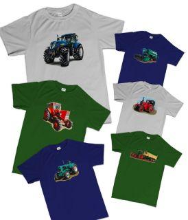 Shirt Navy Traktor, Trekker, Schlepper, Ostalgie, Oldtimer